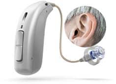 De bedste høreapparater - høreappart usynligt på øre